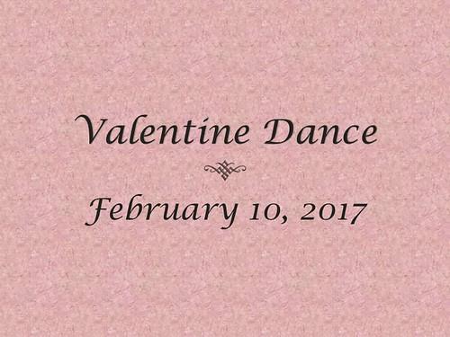 2017 Valentine's Day Dance