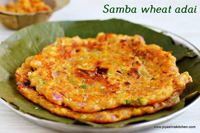 samba wheat adai