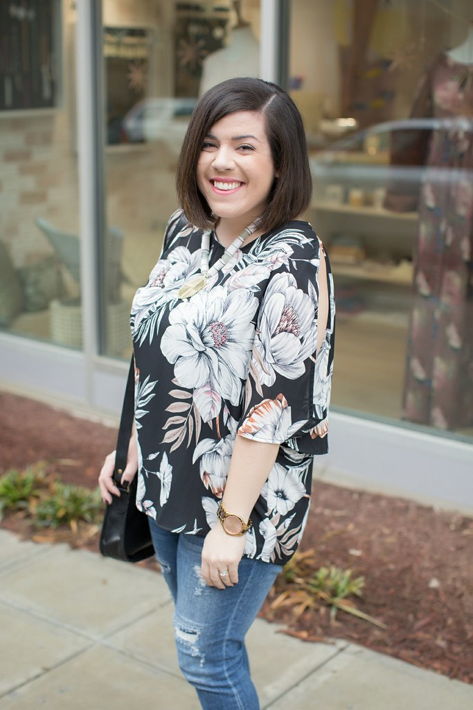 Floral Top-@headtotoechic-Head to Toe Chic