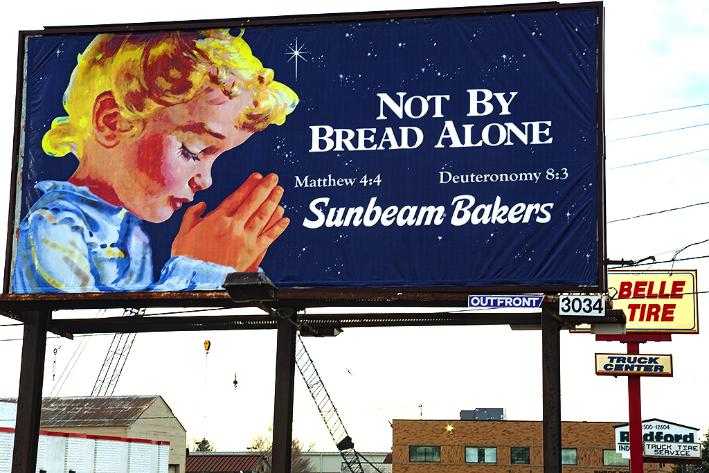 NOT BY BREAD ALONE--Redford
