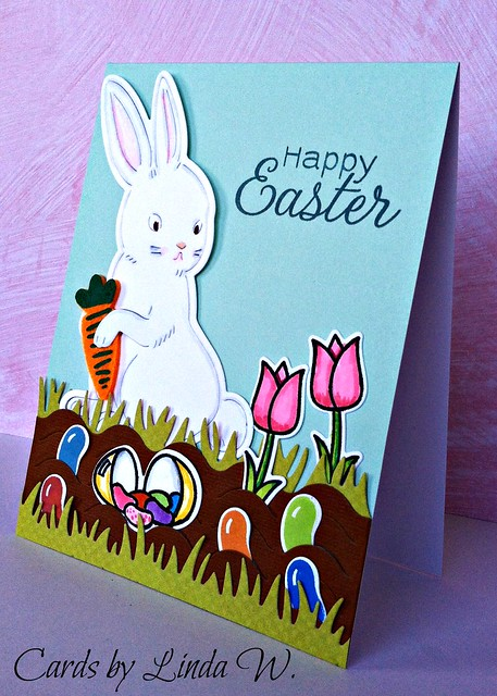 Paper Layering Rabbit