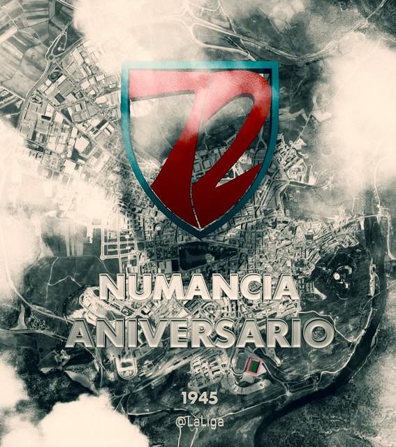 El CD Numancia cumple 72 años de historia