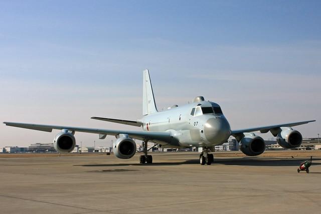 P-1対潜哨戒機 5507号機 IMG_4607_2