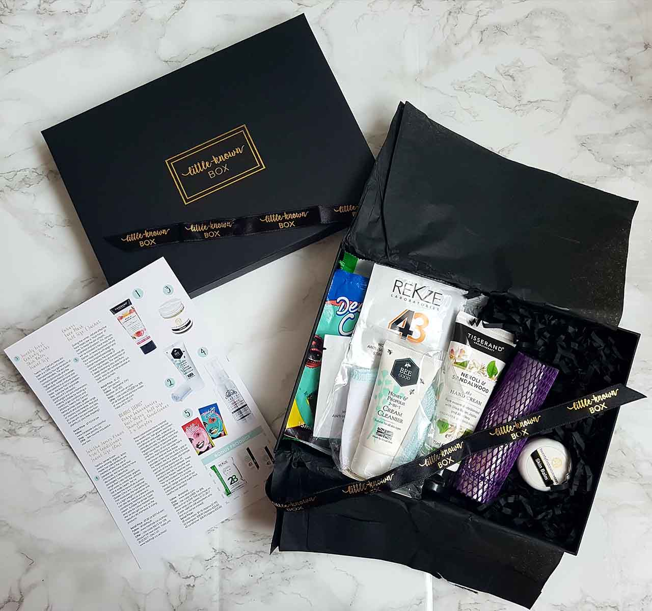 "Unboxing A Beauty Subscription Box: ""Little Known Box"": If you are a beauty enthusiast, you will know about the various beauty boxes you can subscribe to! Ever since I found out about beauty subscription boxes, I have tried to test as many as possible. Sadly, in the U.K. we don't have as many to choose from as in the U.S.A. but the U.K. list is growing! The Little Known Box is one of the newest beauty boxes to hit the market and this is the 2nd box I have tried from the company. The 1st box I tested was the Christmas limited edition box which was excellent."