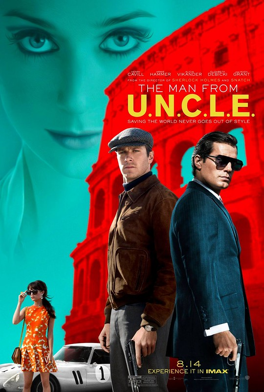 The Man from U.N.C.L.E. - Film - Poster 2