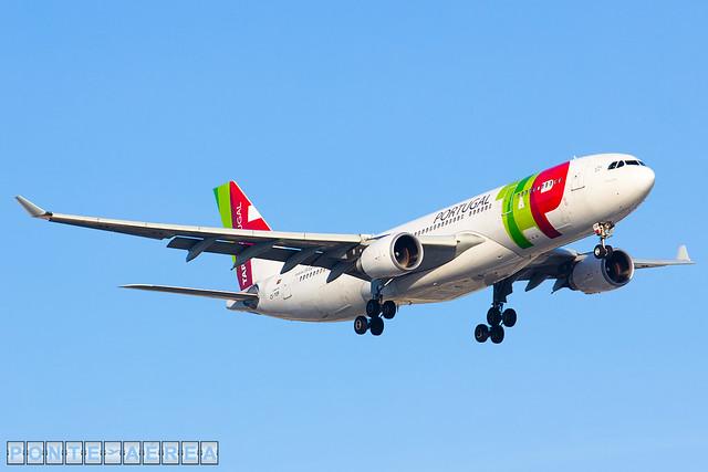 Airbus A330-200 TAP Portugal CS-TOP