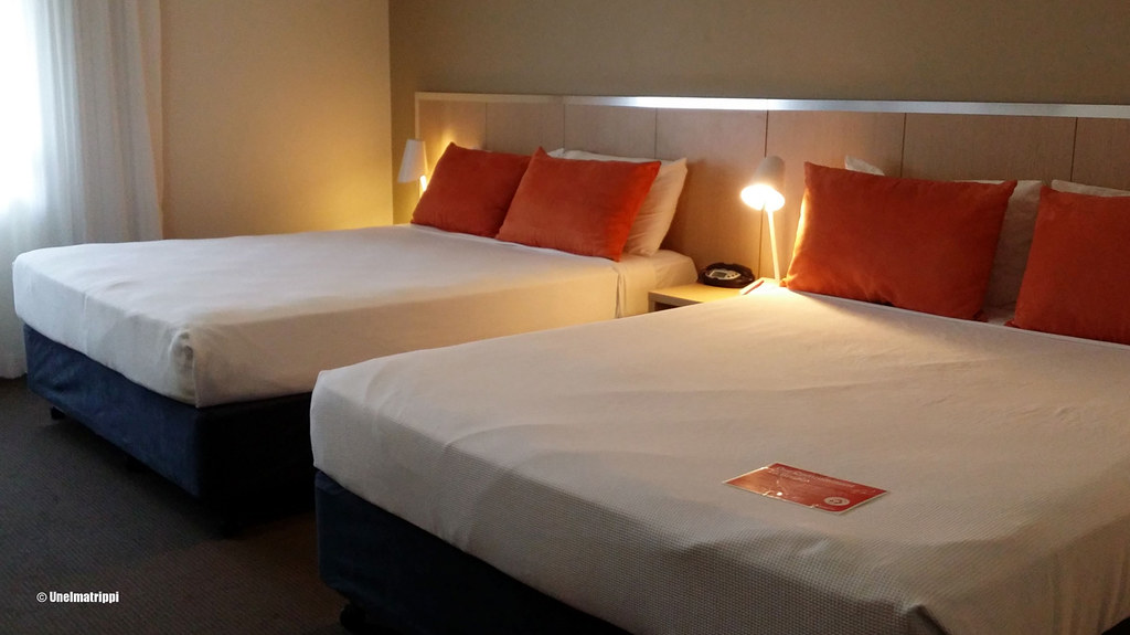 Huoneemme Travelodge Mirambeena Resortissa, Darwin, Australia