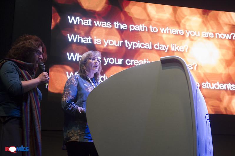 Sharon Calahan incontra il pubblico di Romics