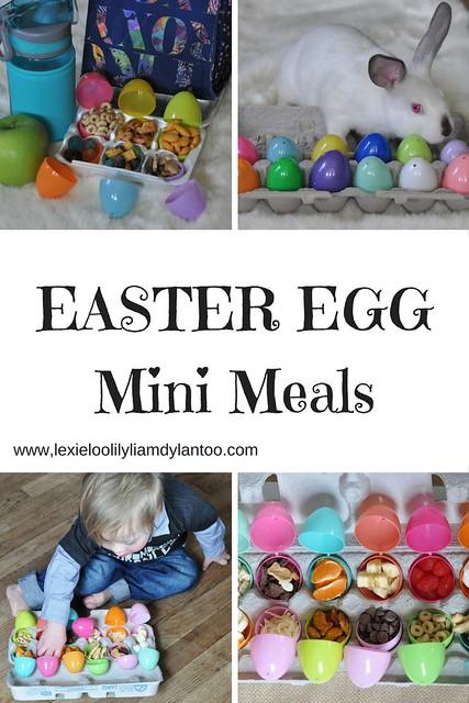 Easter Egg Mini Meals for Kids