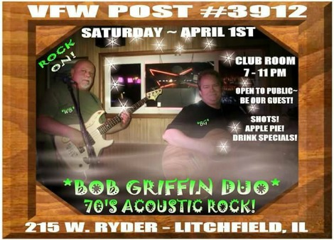 Bob Griffin Duo 4-1-17