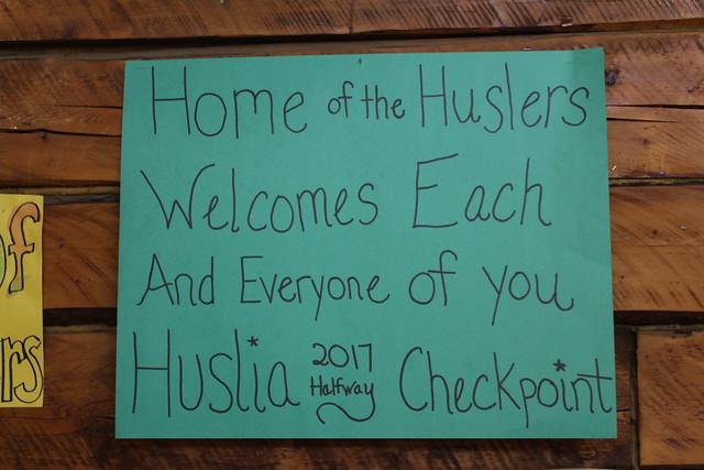 Iditarod in Huslia