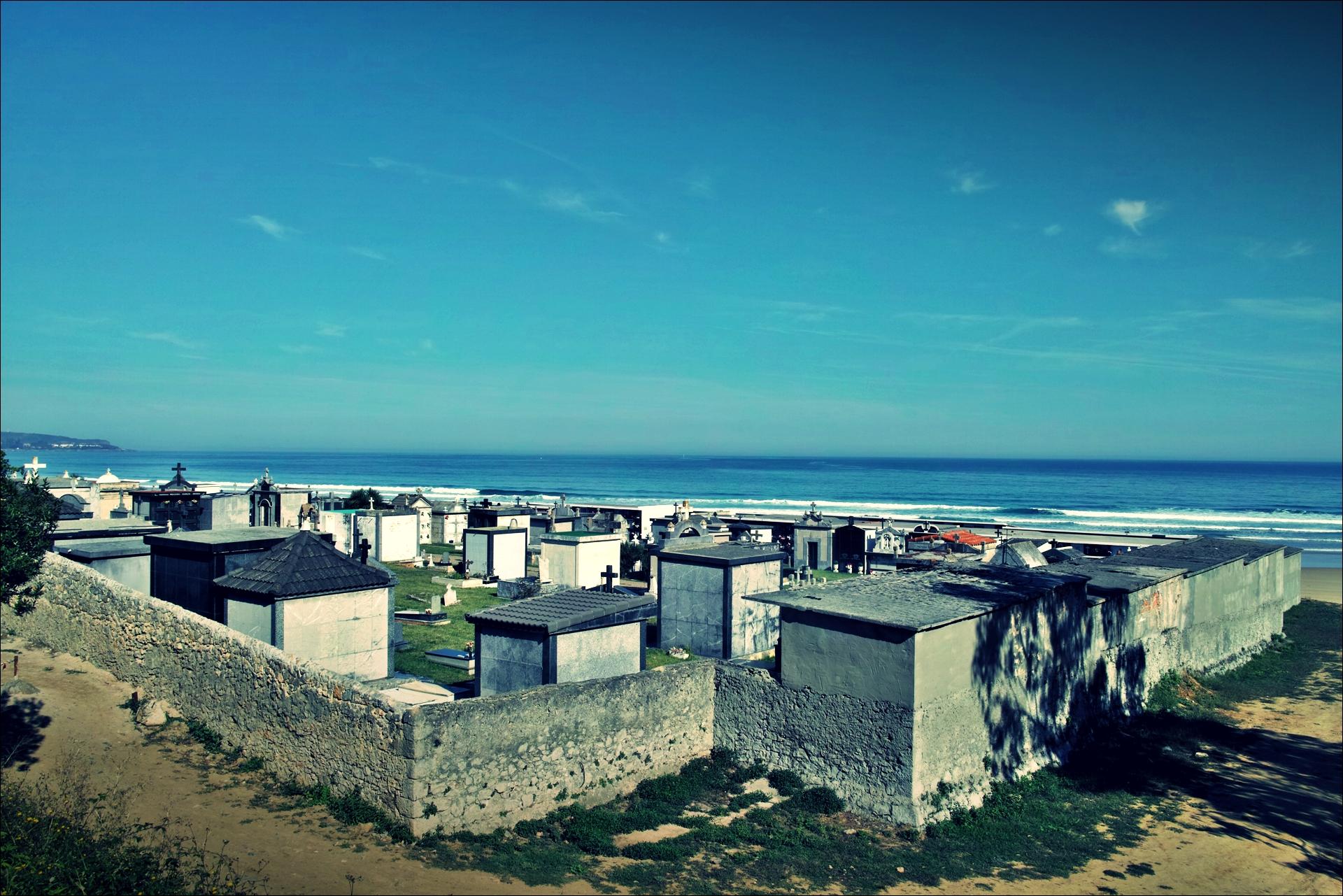 묘지-'카미노 데 산티아고 북쪽길. 산토냐에서 노하. (Camino del Norte - Santoña to Noja)'