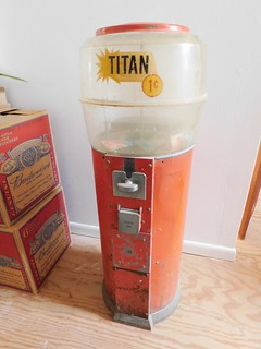 1950s era Tom Boys gumball machine | by thornhill3