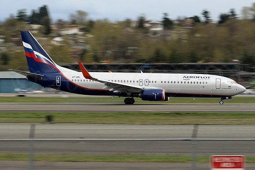 Boeing 737-8MC(WL) Aeroflot - Russian Airlines VP-BML LN6348