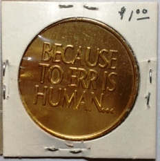 Compugrade medal reverse