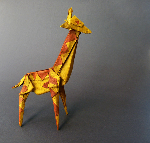 Spotted giraffe | by bodorigami