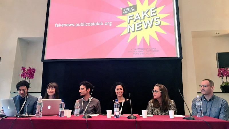 A Field guide to Fake News launch event
