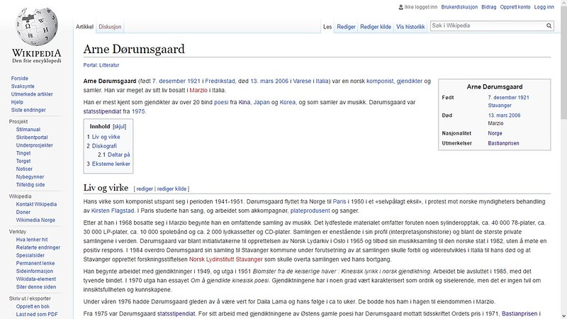 arne dørumsgaard wiki