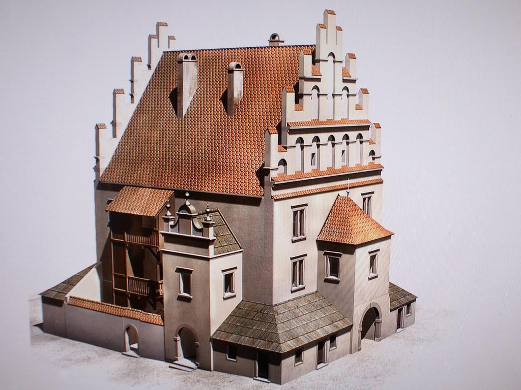 Grande balance publique détruite lors de la réorganisation du Rynek de Cracovie. Musée d'histoire de la ville.