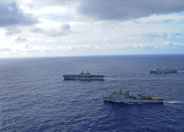USS BOXER ARG