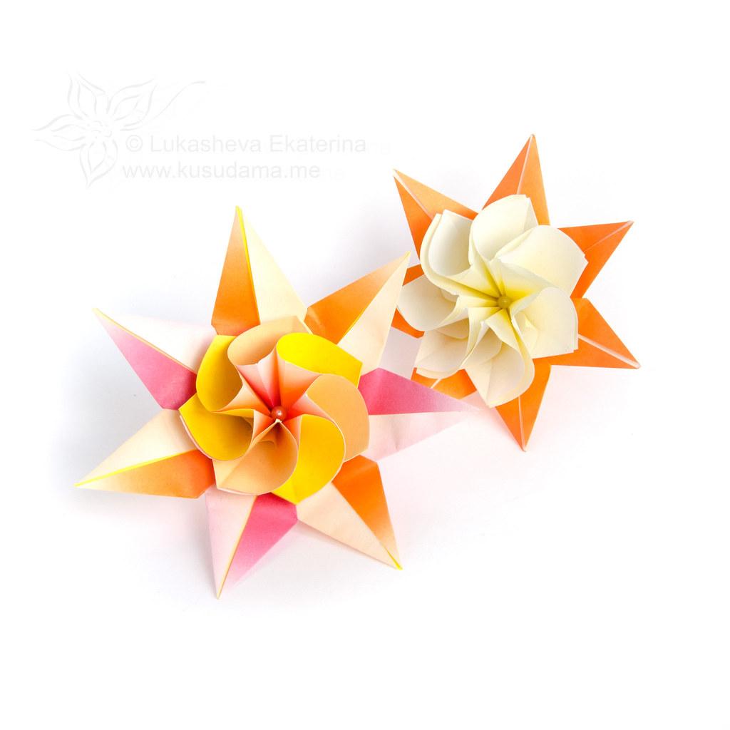 Lily Queen Modular Origami Flower No Glue Ekaterina Lukasheva