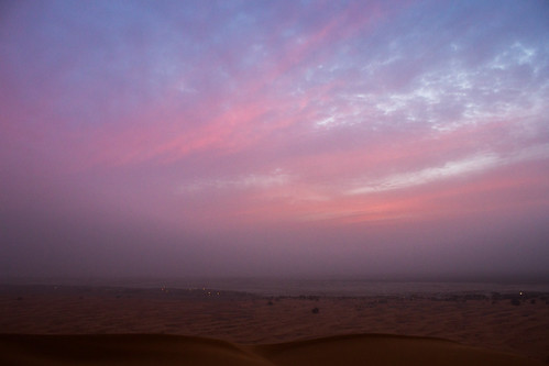 sunset in the Sahara | by lizziemoch