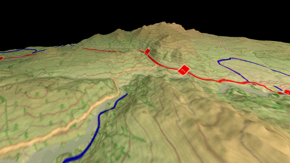 Opencyclemap in 3d using qgis and blender example of using flickr opencyclemap in 3d using qgis and blender by stevefaeembra gumiabroncs Image collections