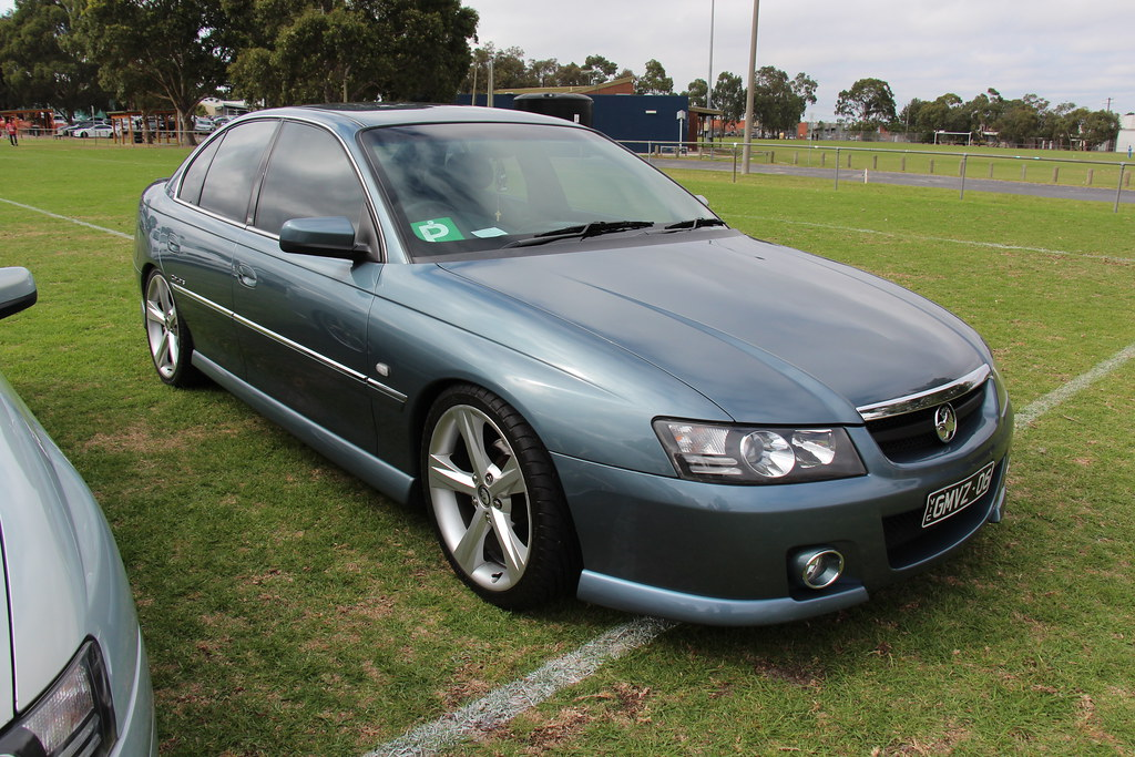 2005 Holden Vz Calais Sedan The Vz Commodore Was Built