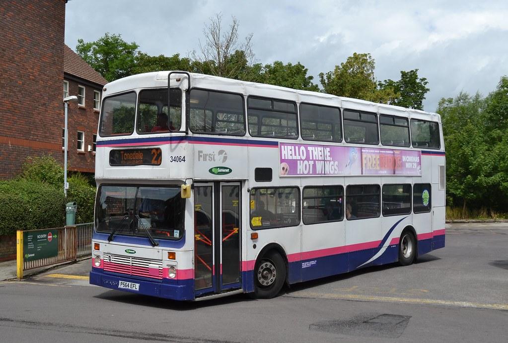 Buses Of Somerset First P564 Efl 34064 Taunton Bus Flickr