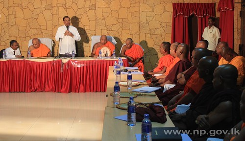 "Discussion with the members of ""Yapa Patuna Sasenarakshaka balamandalaya"" – 18th July 2014"