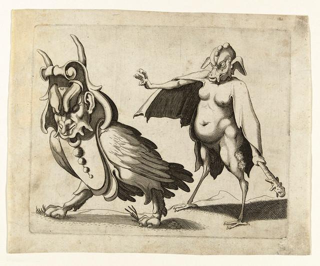 004- Dibujos grotescos - Arent van Bolten- Rijksmuseum