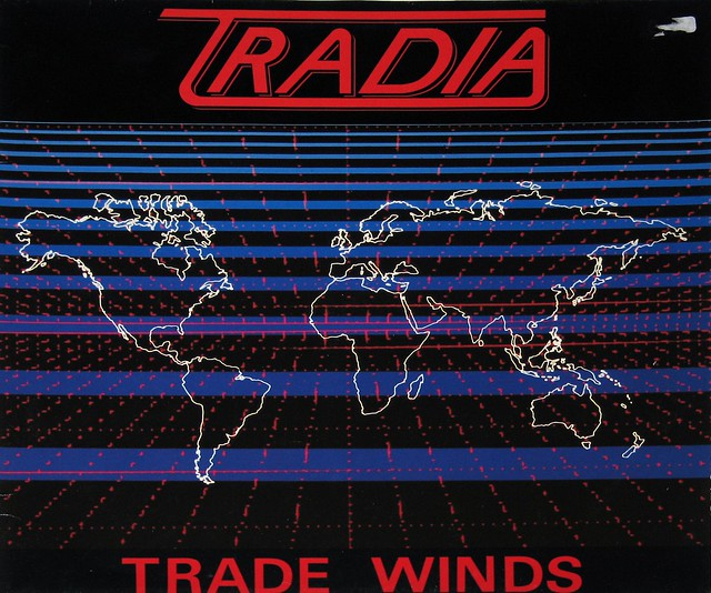 "TRADIA TRADE WINDS UK 12"" vinyl LP"