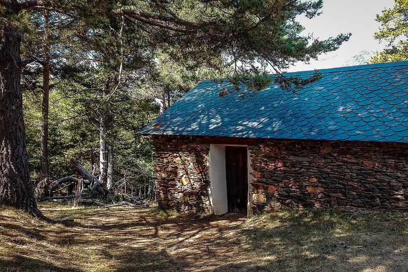 Exterior de la ermita de Santes Creus