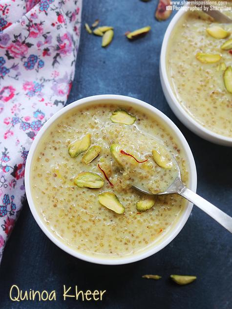 Quinoa kheer recipe