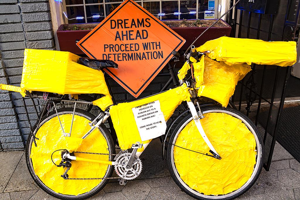 Big Mouth Ben's bike--Atlanta