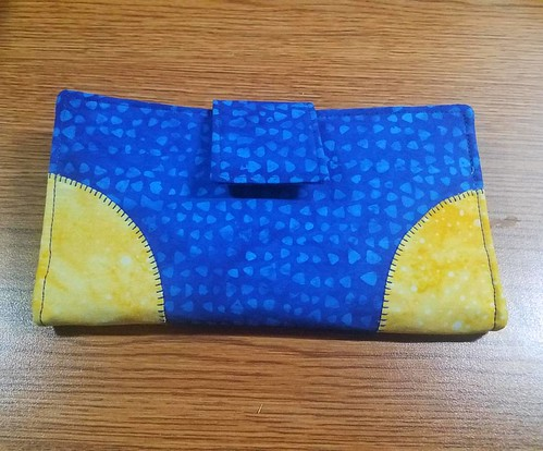 My new Everyday Wallet made to match my Tudor Bag. Love the colors and the strength.