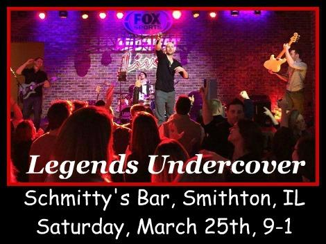 Legends Undercover 3-25-17