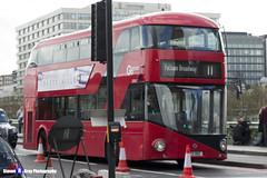 Wrightbus NRM NBFL - LTZ 1512 - LT512 - Fulham Broadway 11 - Go Ahead London - London 2017 - Steven Gray - IMG_8549