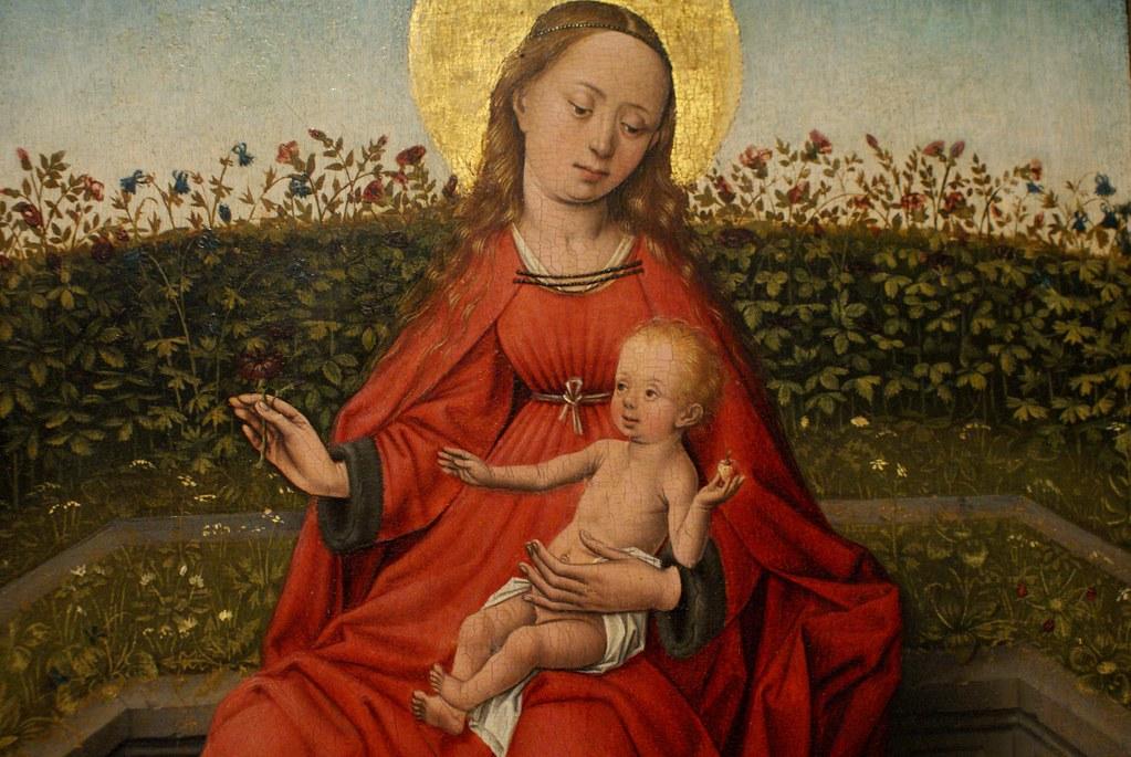 Vierge avec l'enfant au musée de la Pinacothèque de Bologne.