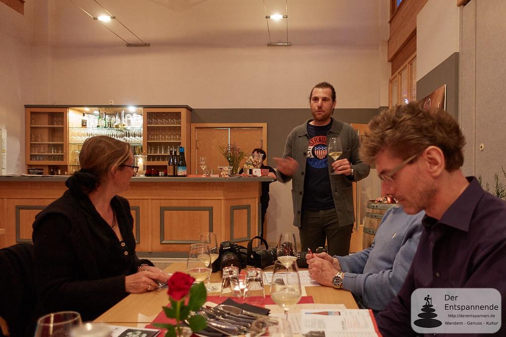 Weingut Schmitt, spezialisiert auch auf Natur- und Orange-Weine