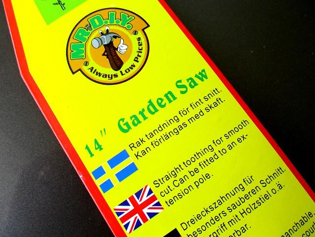 MR PIY garden saw 2
