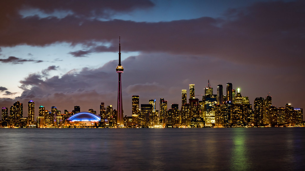 La skyline de Toronto 34148382186_2e7774a093_b
