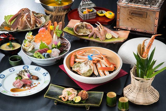 Superior Fresh Matsuba Crab & Tajima Beef Kaiseki