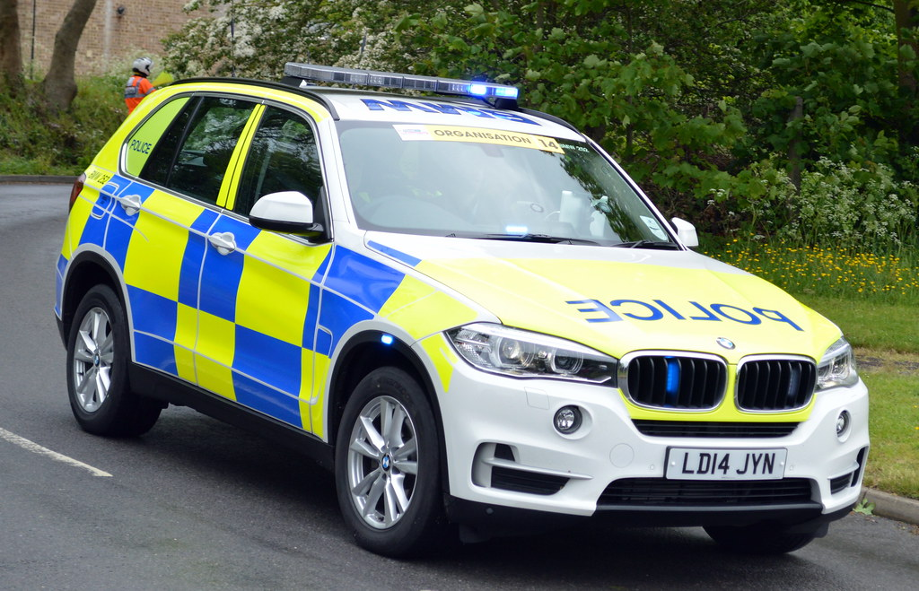Police Demonstrator Bmw X5 Roads Policing Unit Bmw 2