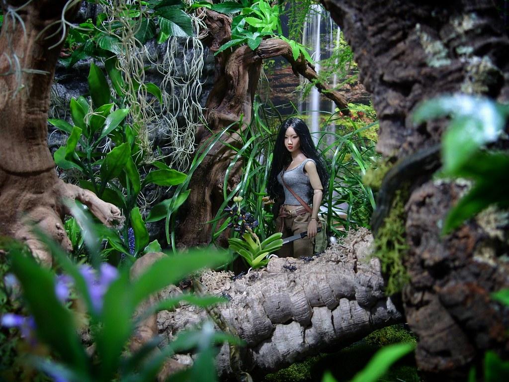 Jungle Explorer Ally Kumiko Braves The Jungle On The