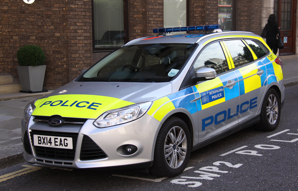 Ford Focus Police Car Uk