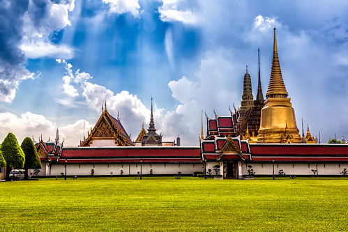 Inside The Grand Palace Throughout The Grounds Of The