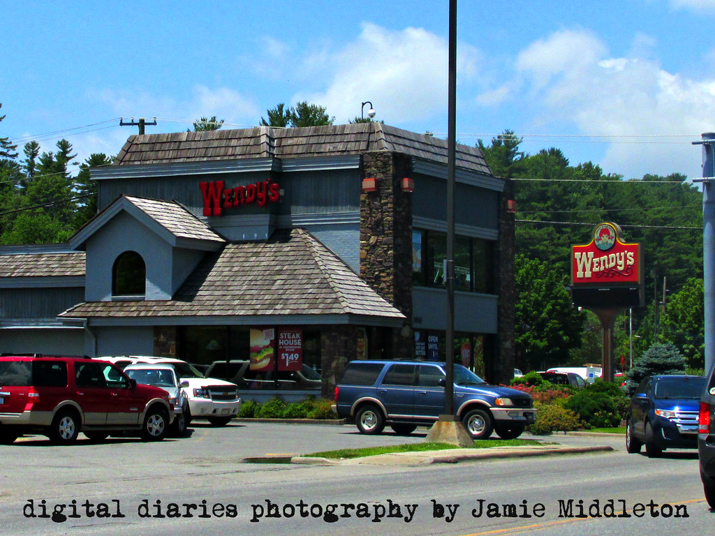 2 Story Wendys In Boone North Carolina Jamie Middleton