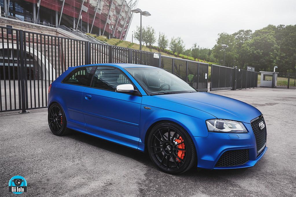 Audi 3door Rs3 Wrap Oracle Blue Www Facebook Com