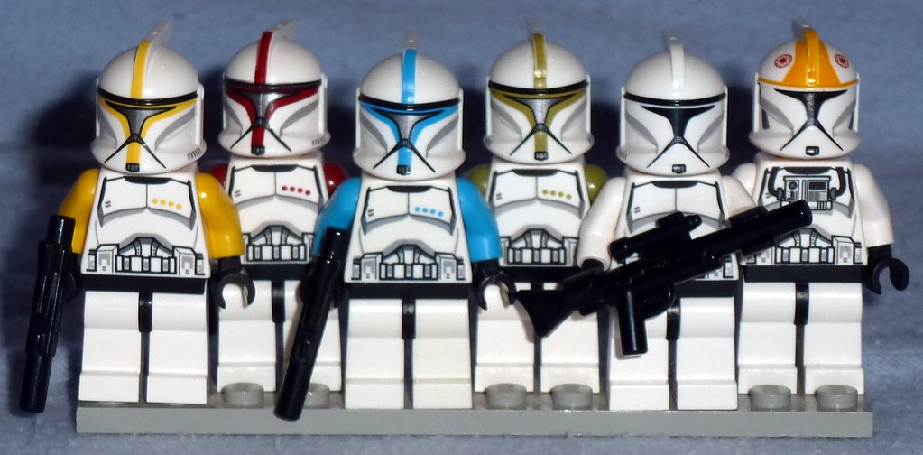 lego phase 1 armor clones lego star wars clone troopers flickr